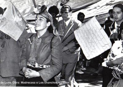 Intervenciones teatrales en Feria Fluvial de Valdivia