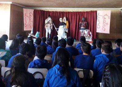 Ojos en el AIRE en Escuela Alberto Cordoba de Lanco