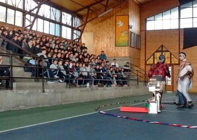 Ojos en el Aire en Liceo Antonio Varas