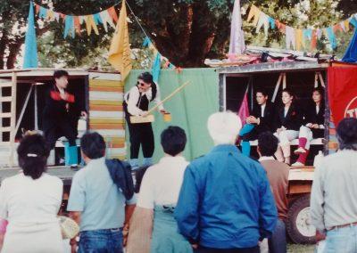 Presentaciones teatrales en Barrios de Valdivia