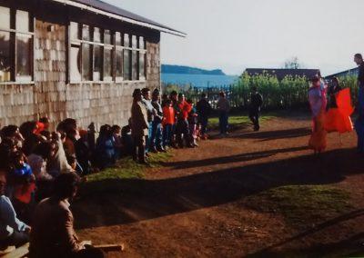 Presentaciones teatrales en escuelas rurales