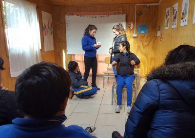 talleres escolares Olegario Morales 2018.