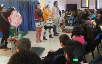 Proyecto FFOIP 2018 / Obra «Ojos el el Aire» en Escuelas Rurales de la Región de Los Ríos