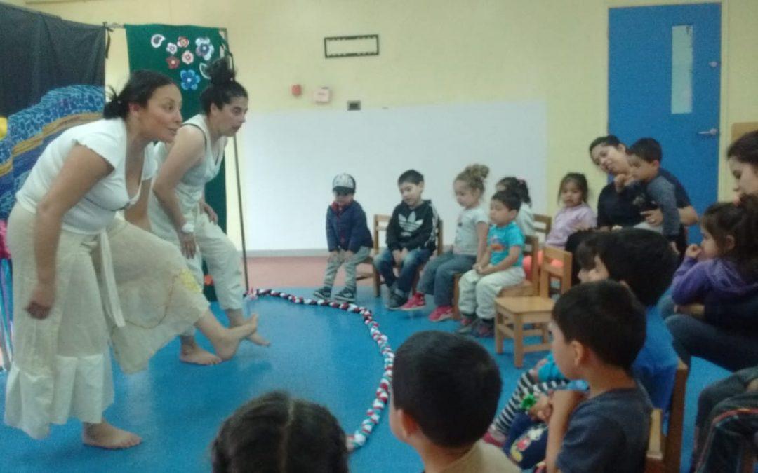 Obra «Caminemos Juntas» / Fundación INTEGRA